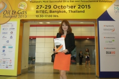 Welcome to Oil & Gas Thailand 2015 Exhibition, 27-29 October 2015
